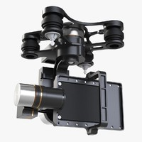 dji zenmuse gimbal stabilizer 3d 3ds