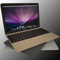 macbook 3d model