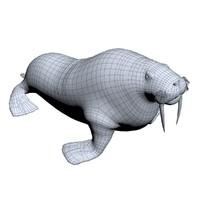 3ds max walrus