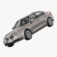bmw 3-series luxury line 3ds