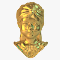 ma golden girl statue