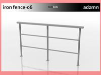 maya iron railing fence