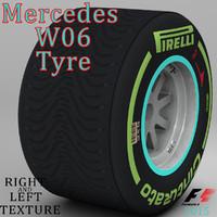 c4d pirelli tyre w06