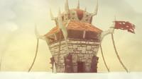 3d orc building model
