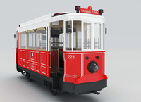 3d model taksim tramvayi