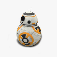 3d max android bb8 droid
