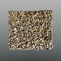 3d scan coarse gravel model