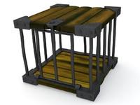 cage box 3d model
