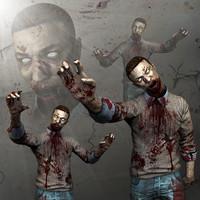 3dsmax zombies