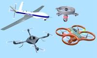 3d 4 drone model