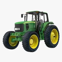 tractor john deere 7330 3d 3ds