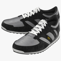 3d model running shoes adidas