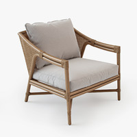 mcguire solano lounge chair 3d model