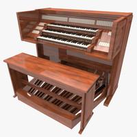 organ 3d model