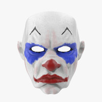 clown mask fbx