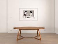 metropolitan table 3d model