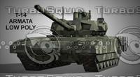 3d russian tank t-14 armata