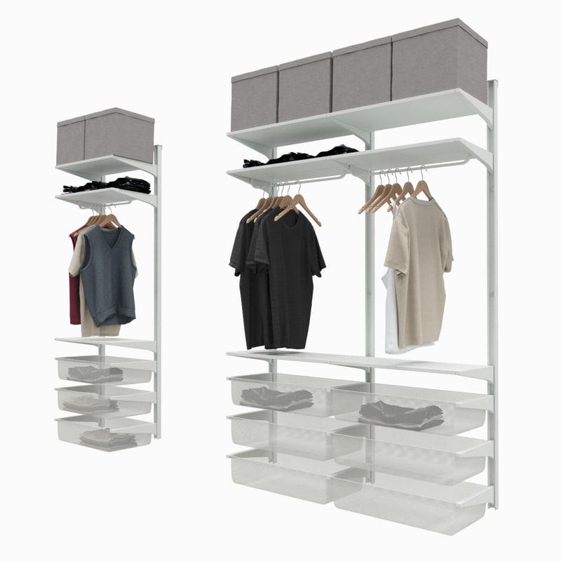 max ikea algot clothes storage. Black Bedroom Furniture Sets. Home Design Ideas