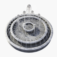 fountain jet 3d max