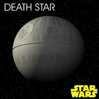 death star 3d max