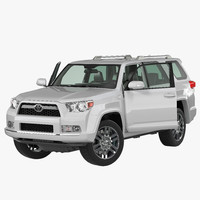 3ds max toyota 4runner rigged 2012
