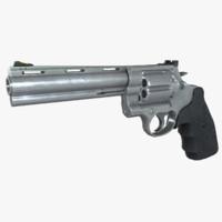 3d model 44 magnum