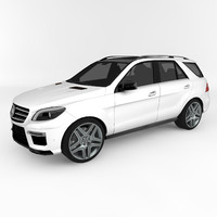 3d model mercedes-benz ml