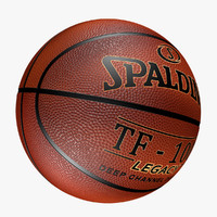 realistic basketball ball spalding max