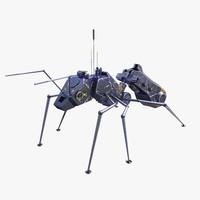 nanomachine 3D models