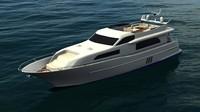 3dsmax yacht