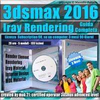 Corso 3ds max 2016 Iray Rendering Guida Completa  3 Mesi