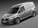 Volkswagen Caddy 3D models