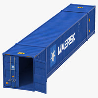 max 53 ft shipping iso container