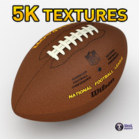3d model of american football