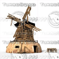 maya windmill