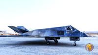 f117 bomber 3d model