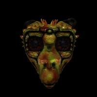 creature head 3d ma