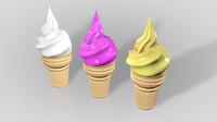 ice cream c4d