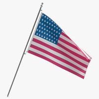 usa flag x