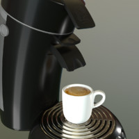 philips coffee maker 3d max