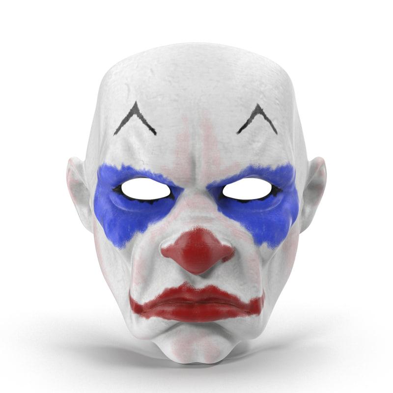 Как из бумаги сделать маску клоуна убийцы