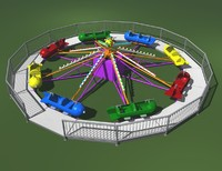 carnival ride sky fighter 3d ma