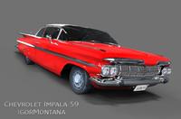 maya chevrolet impala 1959