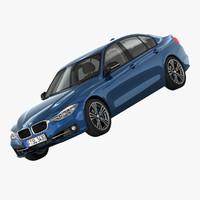 3d model bmw 3-series sport line