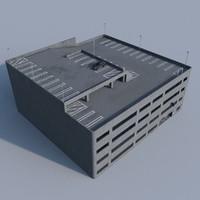 parking garage 3d model