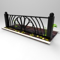 3d metal fence