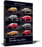 car concept 2014 3d model