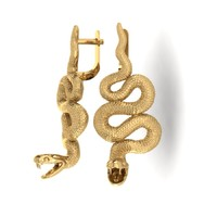 3d earrings snake