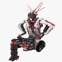 3d model lego mindstorms gripp3r
