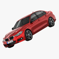 3ds max bmw 3-series m sport